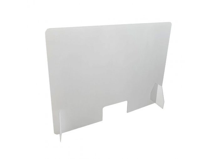 Ochranná plastová prepážka 100x75cm