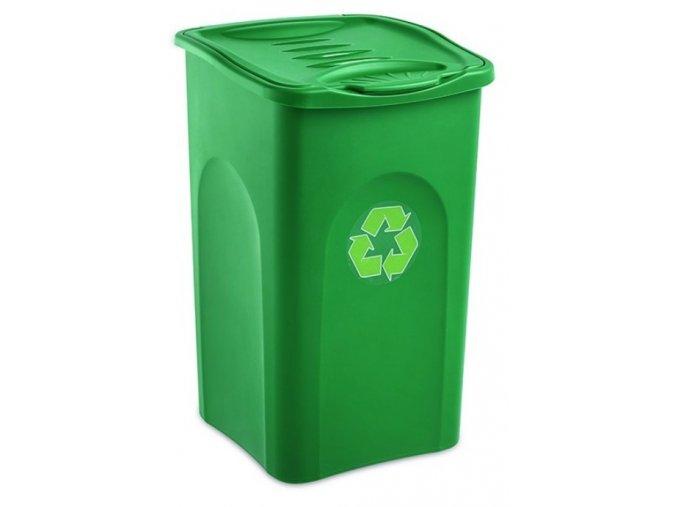 smetny kos begreen 50 litrov zeleny