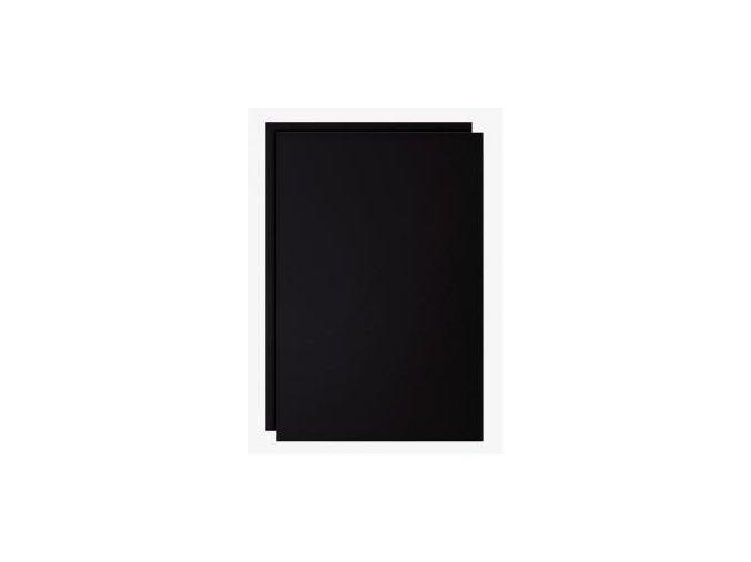 Čierna popisovateľná fólia, 2 kusy, B1