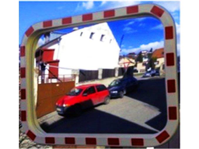 Dopravné zrkadlo 800 × 600 mm