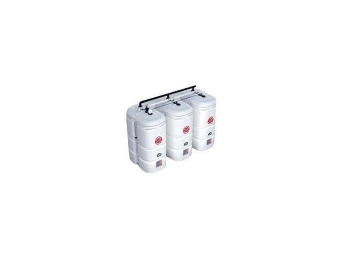 Dvojplášťová nádrž plast-plast, 750 l