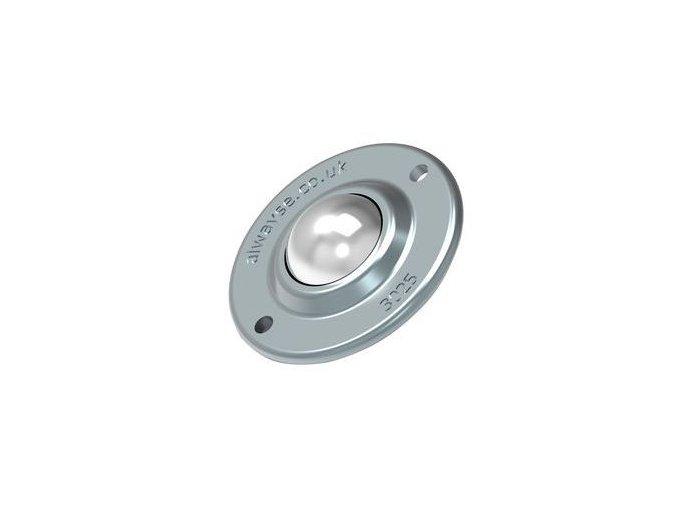 kulickova kladka s prirubou prumer 25 mm 1650190a