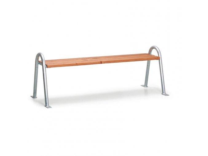 Lavička bez operadla - typ C - 1,5 metra