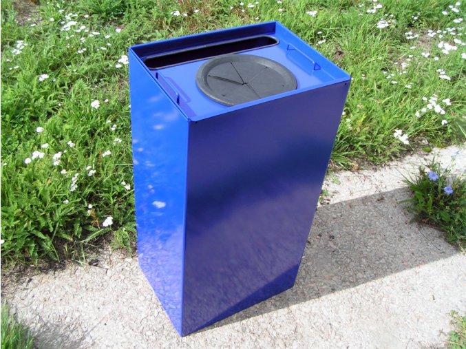 Nádoba na triedený odpad 100 litrov, modrá