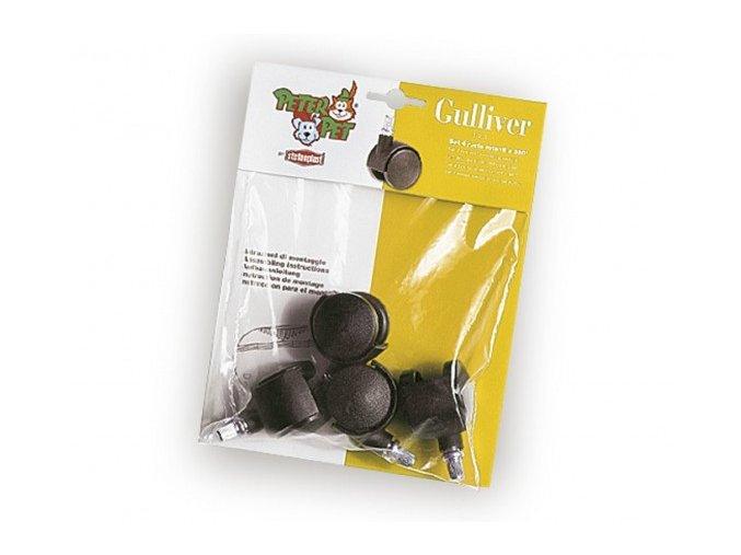 Sada kolecek pro prepravky Gulliver a Gulliver Delux