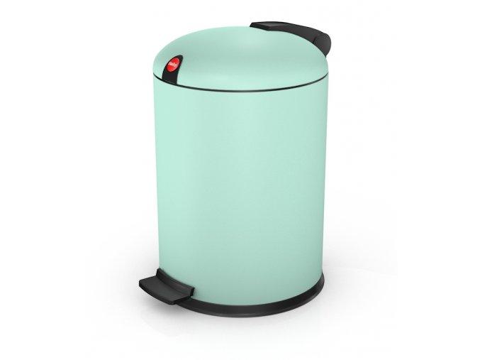 Nášľapný kozmetický kôš Hailo 4 litre, mätová