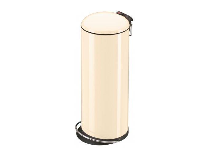Odpadkový kôš Hailo nášľapnú 24 litrov, lak vanilka