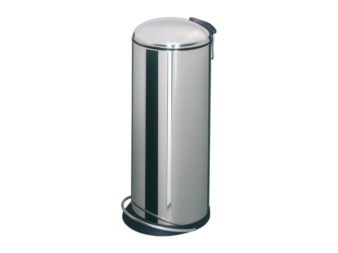 Odpadkový kôš Hailo nášľapnú 24 litrov, nerez lesklý