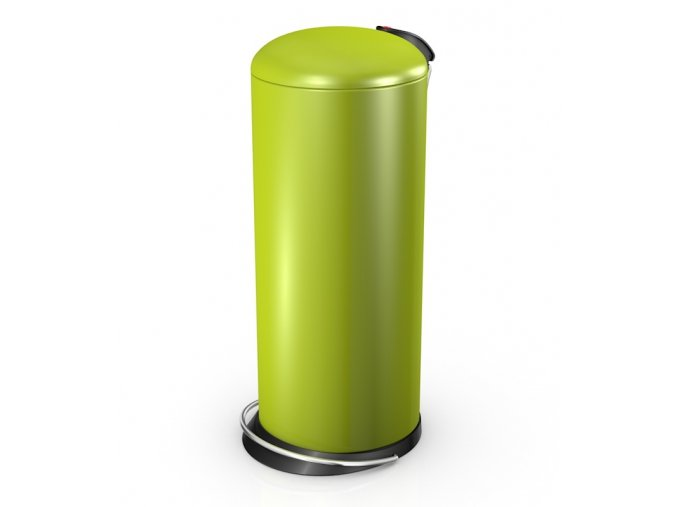 Odpadkový kôš Hailo nášľapný 24 litrov, lemon