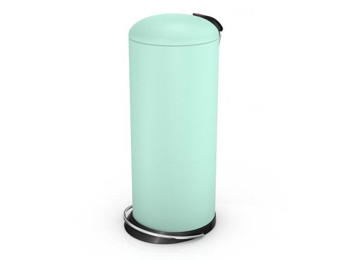 Odpadkový kôš Hailo nášľapný 24 litrov, mint matný