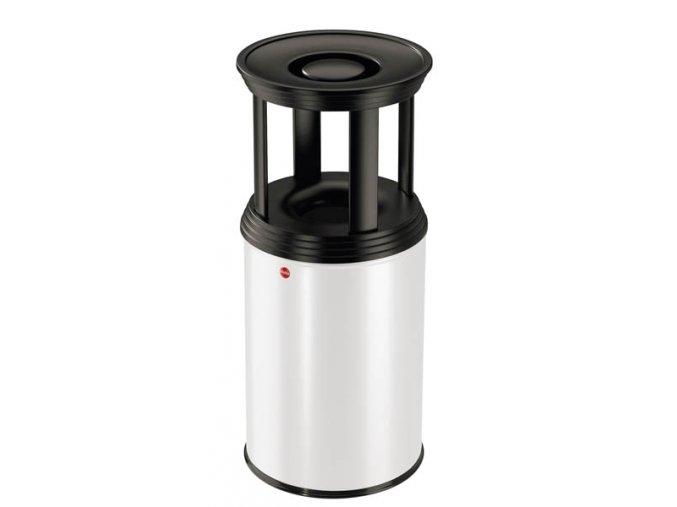 Odpadkový kôš s popolníkom ProfiLine combi plus, 30l, biely