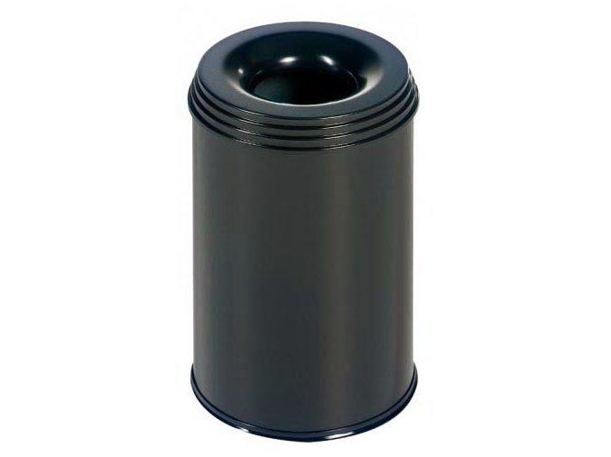 Odpadkový kôš samohasiace ProfiLine, 15 litrov, čierny