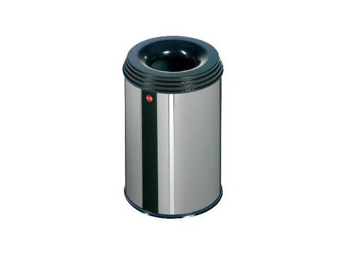 Odpadkový kôš samohasiace ProfiLine, 15 litrov, nerez