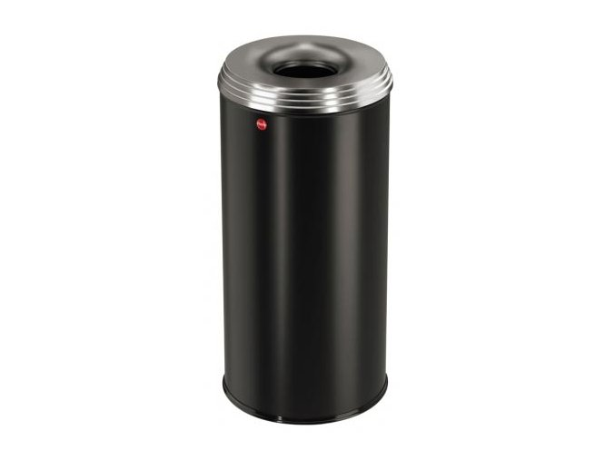 Odpadkový kôš samohasiace ProfiLine, 50 litrov, čierna
