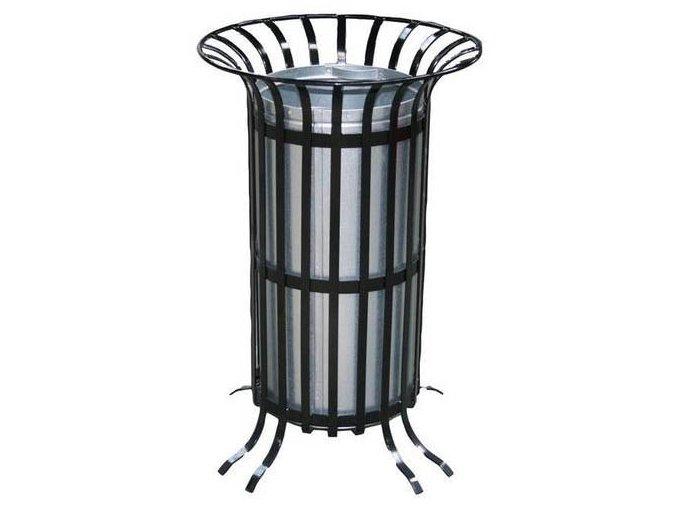 Odpadkový kôš vonkajšie dizajnový