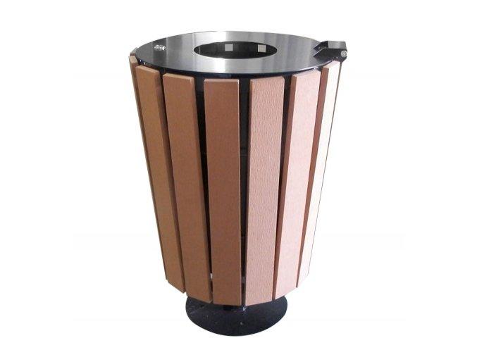 Odpadkový vonkajší kôš, 55 l