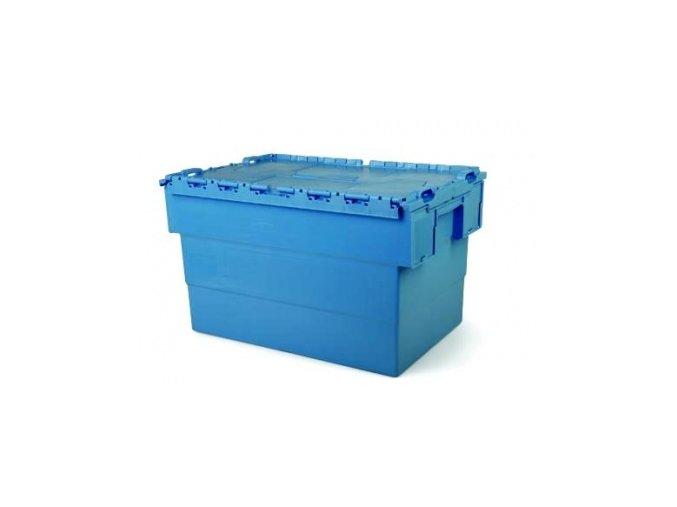 Plastový prepravný box Integra, objem 64 l