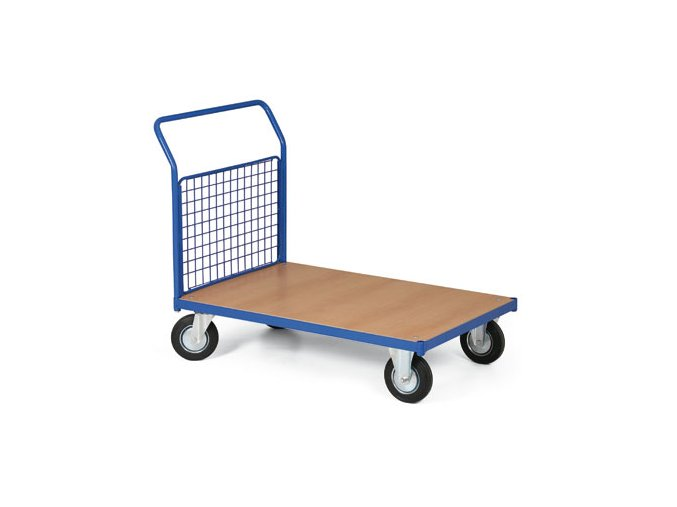 Plošinový vozík, jedno madlo drôtené, 400 kg