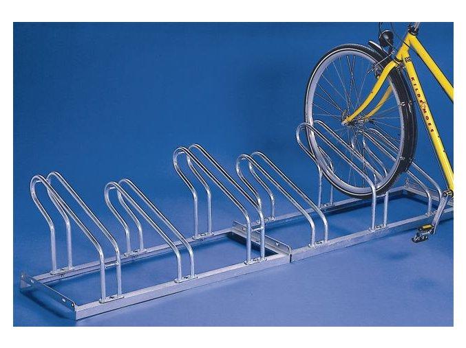 Stojan na bicykle jednostranný, 3 parkovacie miesta