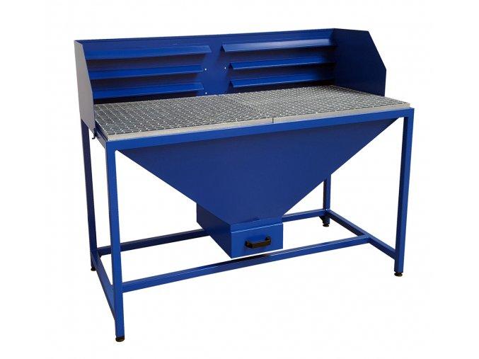 Stôl na brúsenie, 103 x 73 x 85 cm
