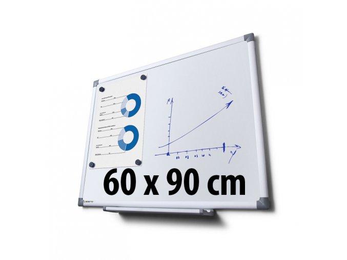Tabuľa magnetická, 60 x 90 cm