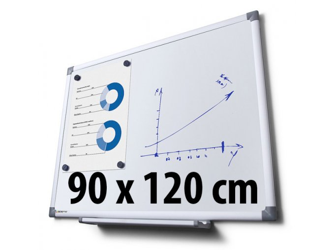 Tabuľa magnetická, 90 x 120 cm
