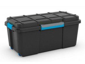 Vodotesný box 35x39,5x78 čierny L