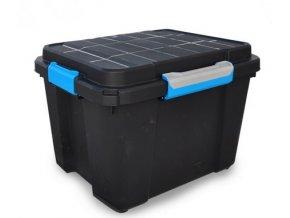 Vodotesný box 49,5x39x34 čierny M