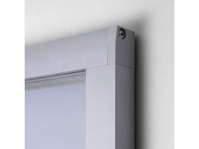Vonkajšie magnetické vitríny SCO, 8 x A4