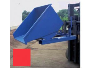 Výklopný kontajner (prepravník) 600 litrov, var.základní, červená