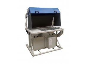 Zvárací stôl s filtračnou jednotkou aj odsávaním