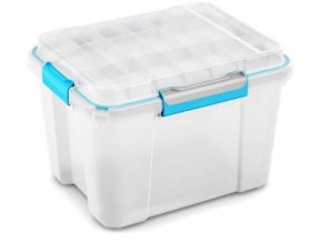 vodotesny box plastovy biely