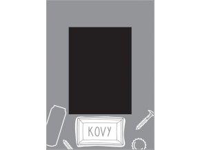 Samolepka triedenie odpadu - veko - kovy