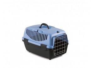 Prepravka Gulliver 1 s kovovými dvierkami pre zvieratá do 6 kg, modrá