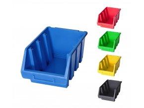 Plastové boxy Ergobox 3 - 12,6 x 17 x 24 cm (Jméno Plastový box Ergobox 3 12,6 x 24 x 17 cm, oranžový)