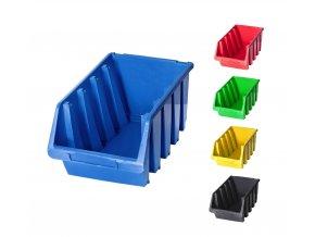 Plastové boxy Ergobox 4 - 15,5 x20,4 x34 cm (Jméno Plastový box Ergobox 4 15,5 x 34 x 20,4 cm, oranžový)