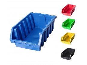 Plastové boxy Ergobox 5 - 18,7 x33,3 x 50 cm