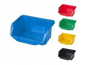 Plastové boxy Ecobox mini 5 x 9 x 11 cm