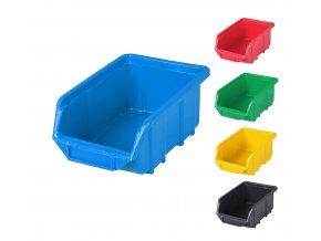 Plastové boxy Ecobox small 7,5 x 11 x 16,5 cm