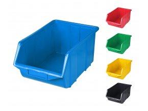 Plastové boxy Ecobox large 16,5 x 22 x 35 cm