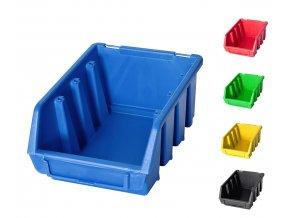 Plastový box Ergobox 2 7,5 x 16,1 x 11,6 cm (Jméno Plastový box Ergobox 2 7,5 x 16,1 x 11,6 cm, oranžový)