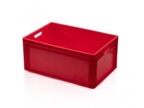 Euro prepravka červená 27 x 60 x 40 cm
