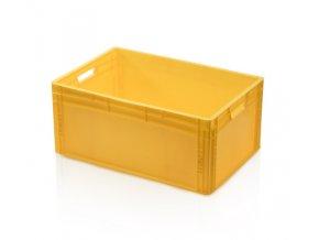 Euro prepravka žltá 27 x 60 x 40 cm