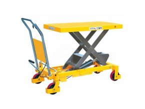 Mobilný hydraulický zdvíhací stôl, do 800 kg, doska 100 x 51,5 cm