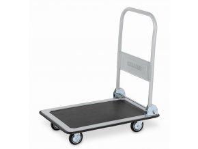 Plošinový vozík so sklopným madlom, do 150 kg