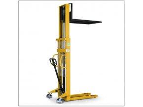 Ručný vysokozdvižný vozík, do 1 000 kg, výška zdvihu 3 000 mm