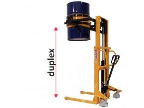 Vysokozdvižný vozík pre sudy, 350 kg