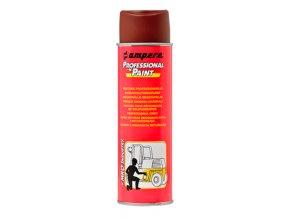Ručný antikorózny sprej Ampere Professional Paint HNEDÝ, bal.1 ks