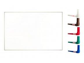 Biele magnetické tabule boardOK, 180 x 120 cm