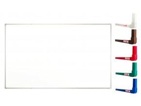 Biele magnetické tabule boardOK 200 x 120 cm